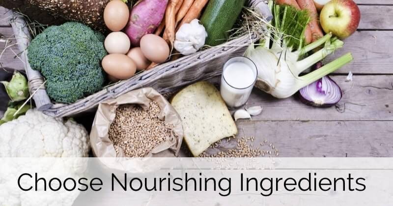 Choose More Nourishing Ingredients - www.ohlardy.com