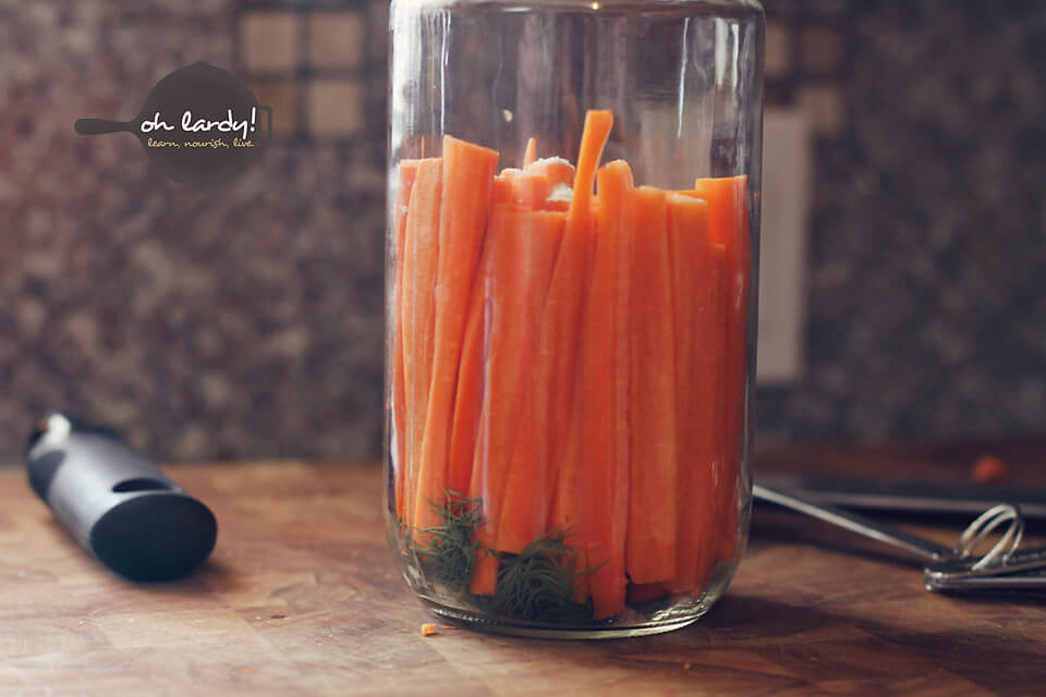 How to make Dilly Carrots