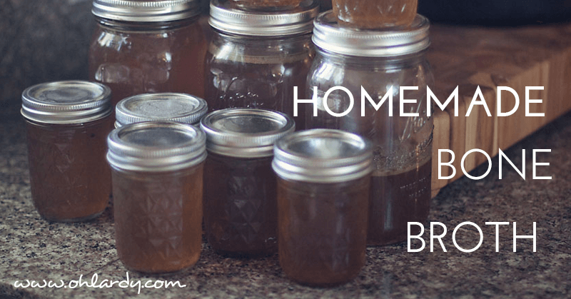 Homemade Beef Broth - www.ohlardy.com