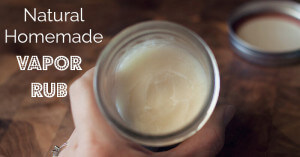 Natural Homemade Vapor Rub - ohlardy.com