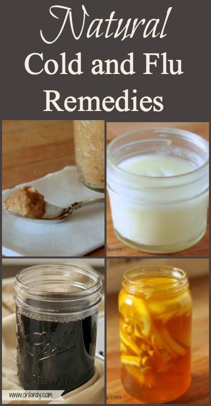 Natural Cold and Flu Remedies. These natural cold remedies will help you get through the winter! Support your immune system and ease your systems with these natural remedies! - www.ohlardy.com
