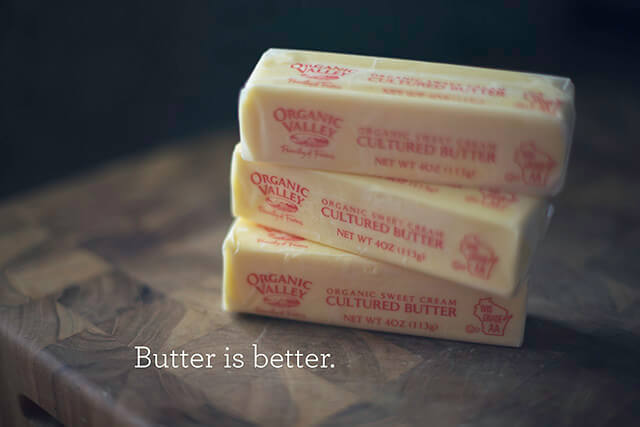 Butter is the Best Alternative to Crisco