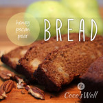Honey Pecan Pear Bread - www.ohlardy.com