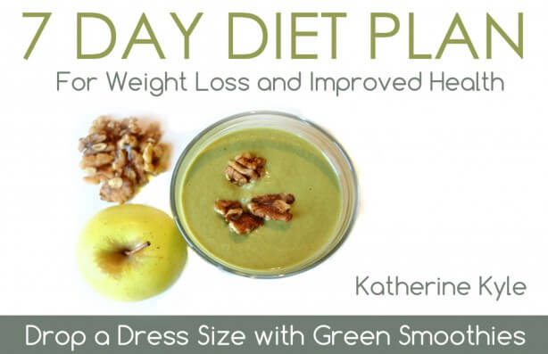 Green Thickies 7 Day Diet Plan - www.ohlardy.com