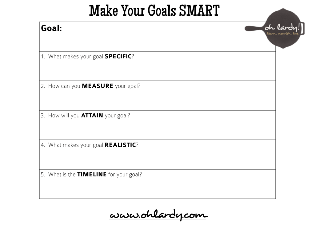 Uncategorized Smart Goals Worksheet 6 tips for reaching your goals and a free goal setting printable how to make smart www ohlardy com
