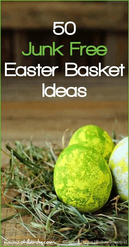 Easter Basket Ideas - Real Food!