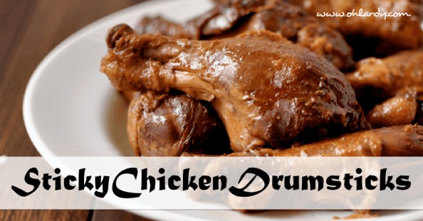 Sticky Chicken Drumsticks