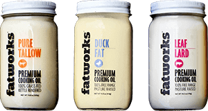 Fatworks - Lard, Tallow and Duck Fat