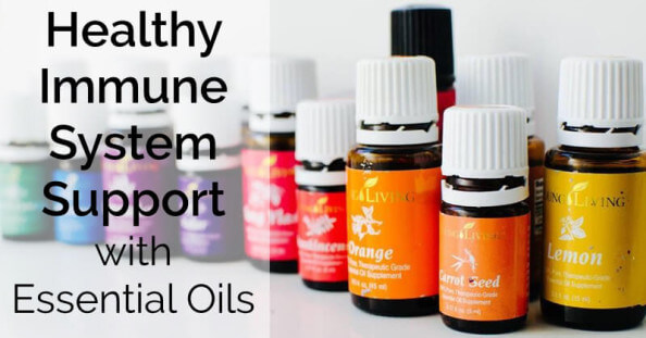 Support a healthy immune system with essential oils - www.ohlardy.com