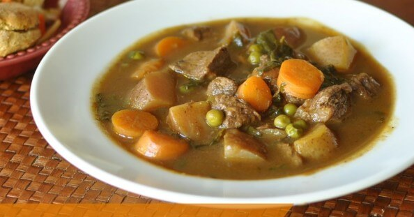 Autumn Beef Stew with Pumpkin. A nourishing, deliciously hearty real food meal that will warm you from the inside out.
