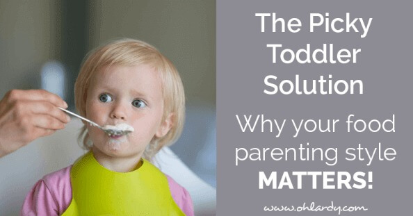 The picky toddler solution