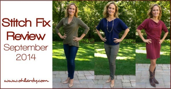 Stitch Fix Review September 2014