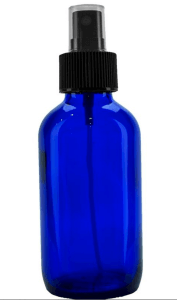 4 ounce glass bottle for making DIY Toner