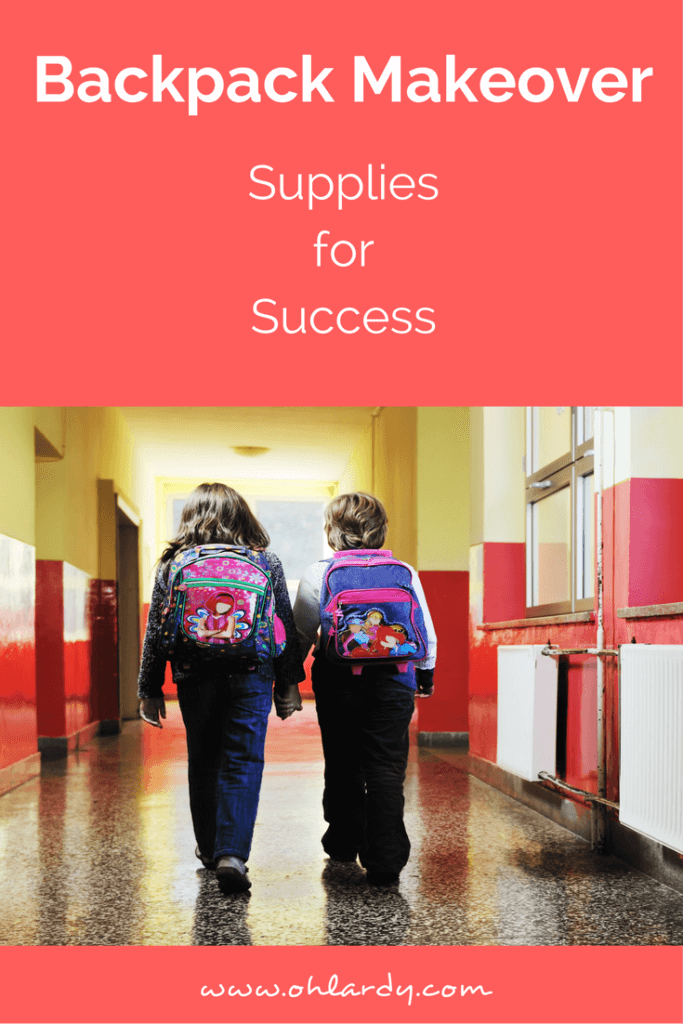 Backpack Makeover | Back to School Supplies