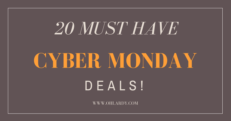 20 Must Have Cyber Monday Deals!