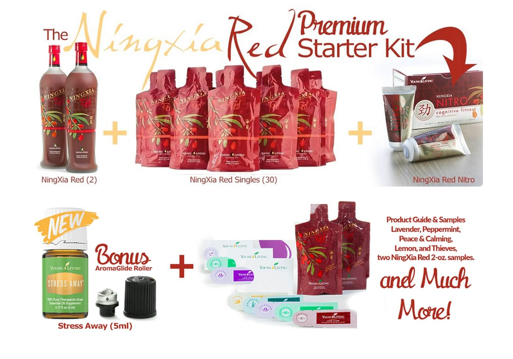Young Living's NingXia Red Premium Starter Kit