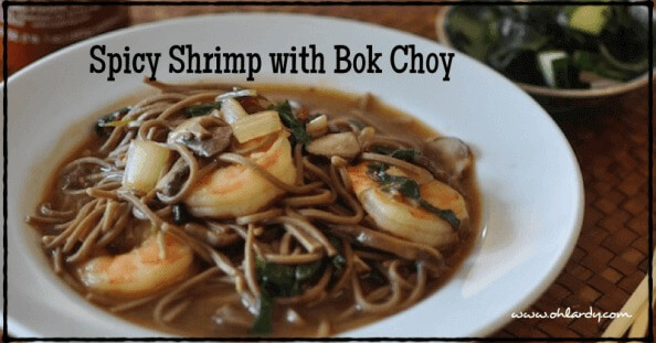 Spicy Shrimp with Bok Choy - www.ohlardy.com