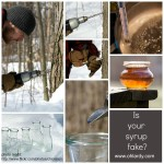 You are using fake maple syrup! -www.ohlardy.com