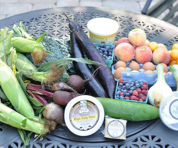 What's in my CSA? Oh Lardy!
