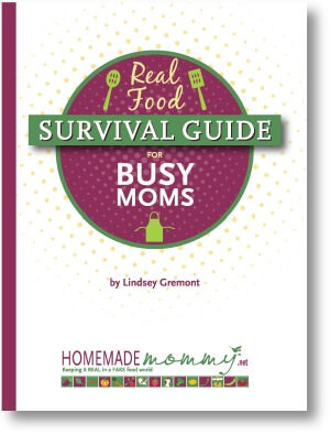 Real Food Survival Guide for Busy Moms - www.ohlardy.com