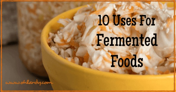 10 Uses for Fermented Foods - www.ohlardy.com