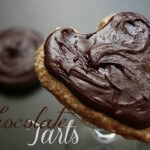 Raw, Vegan Chocolate Tarts - www.ohlardy.com