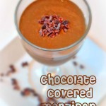 Chocolate Covered Marzipan Smoothie - www.ohlardy.com