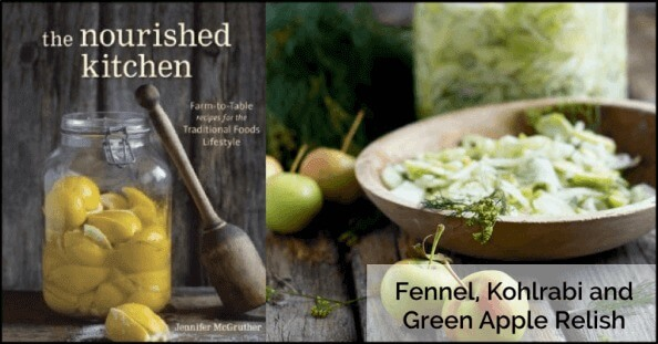 Fennel, Kohlrabi and Green Apple Relish from Nourished Kitchen - Oh Lardy!