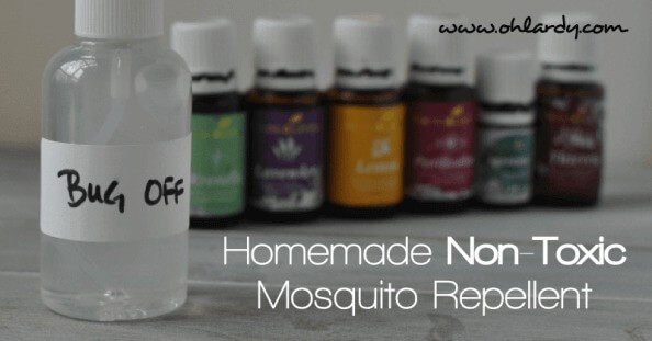 Homemade Non-Toxic Mosquito Repellent