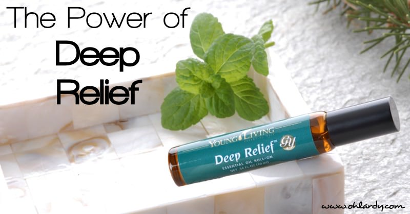 Deep Relief Essential Oil Blend is amazing!
