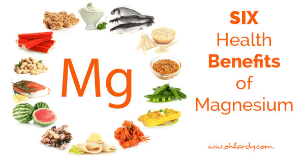 Six benefits of Magnesium - ohlardy.com