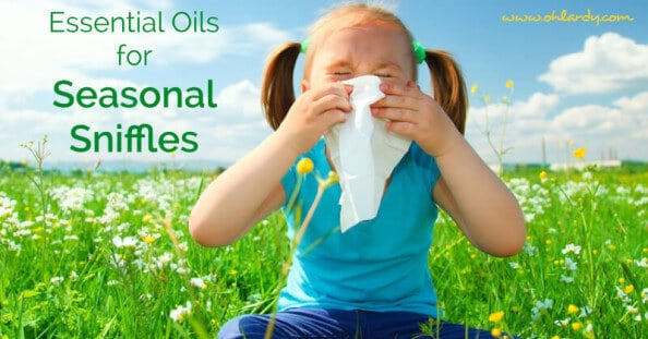 Essential Oils for Seasonal Sniffles