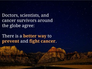 Is there a better way to fight cancer?