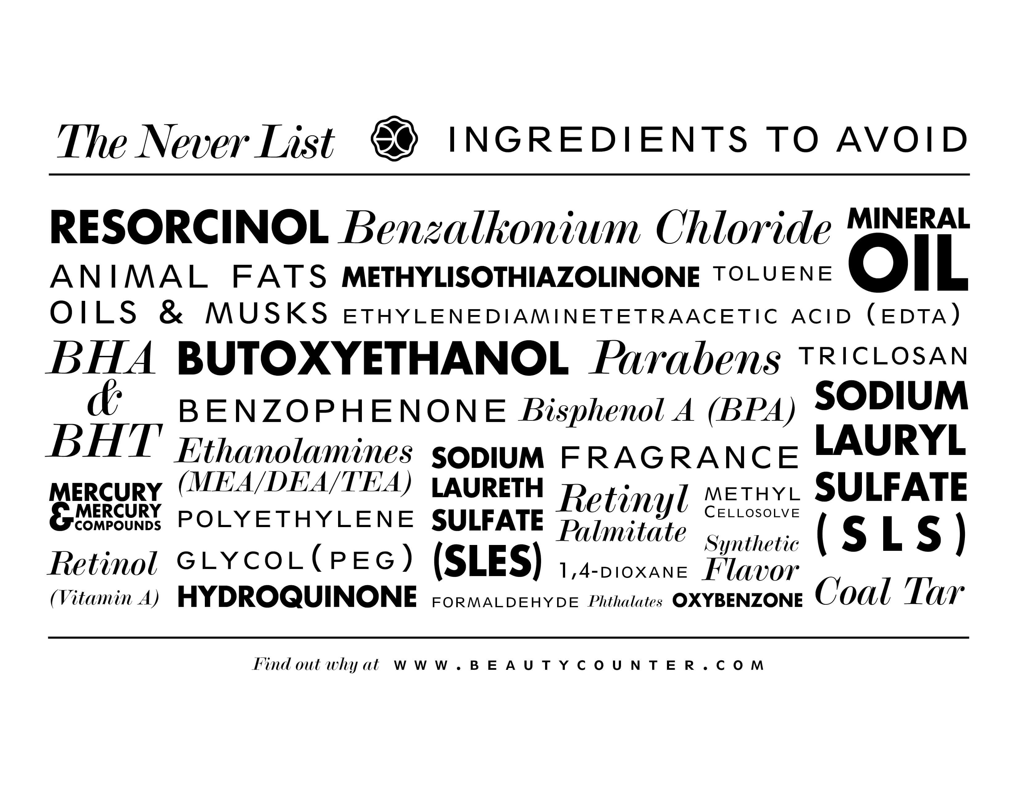 10 Ingredients You Don't Want in Your Cosmetics!
