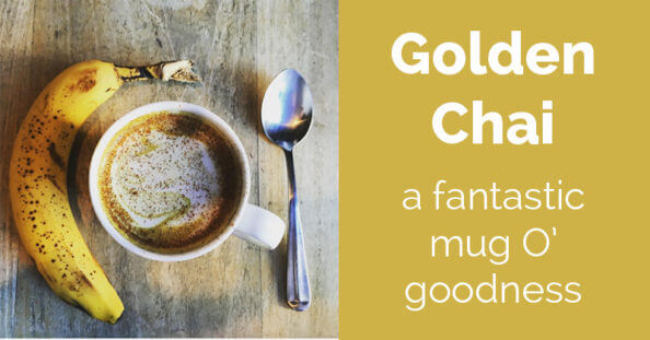 Golden Chai is a fantastic turmeric based chai that is incredibly nourishing and supports your healthy lifestyle!