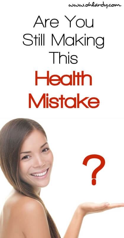 Are you Making This Health Mistake - Safe Cosmetics