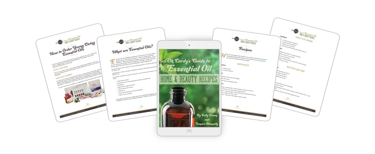 Essential Oil Home and Beauty Recipes
