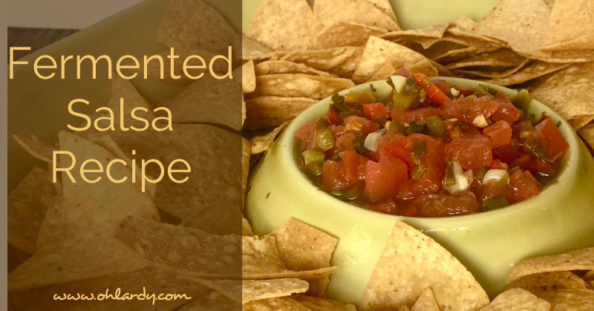 Fermented Salsa Recipe