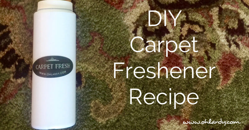 DIY Carpet Freshener Recipe