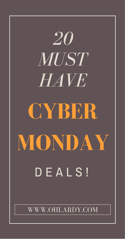 20 Must Have Cyber Monday Deals