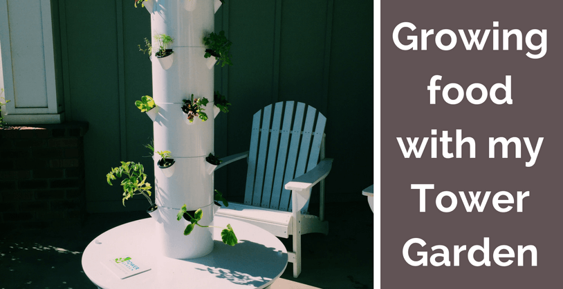 Growing Food with a Tower Garden