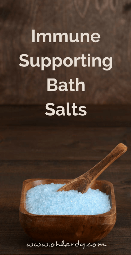 Immune Supporting Bath Salts