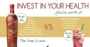 Invest in your health with NingXia Red